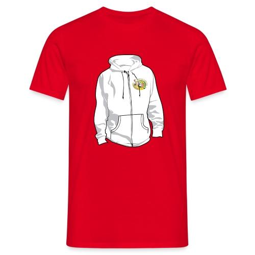 hoodyfront - Mannen T-shirt