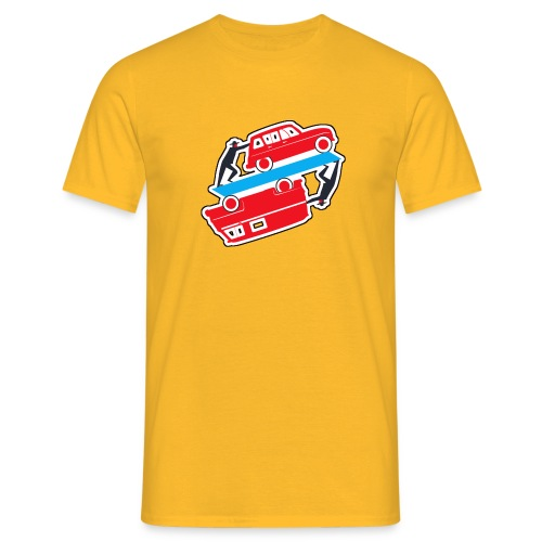 Logo vehicules-anciens.fr - T-shirt Homme
