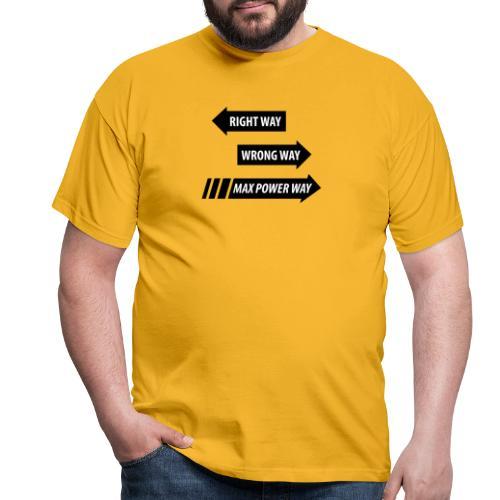 Max Power - T-shirt herr