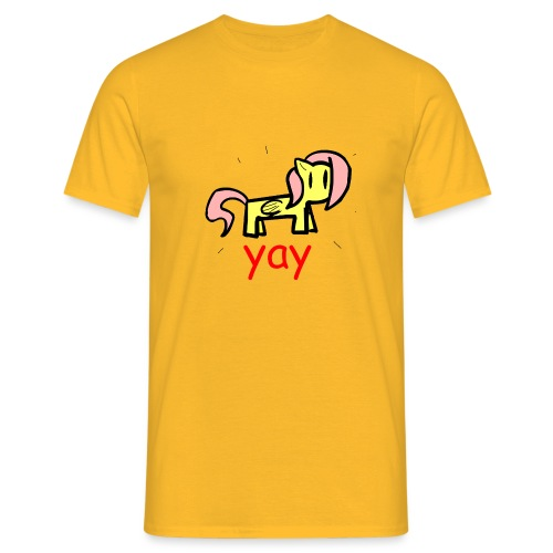 yay Shirt - Men's T-Shirt