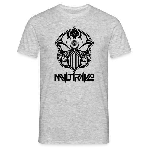 schwarz png - Männer T-Shirt