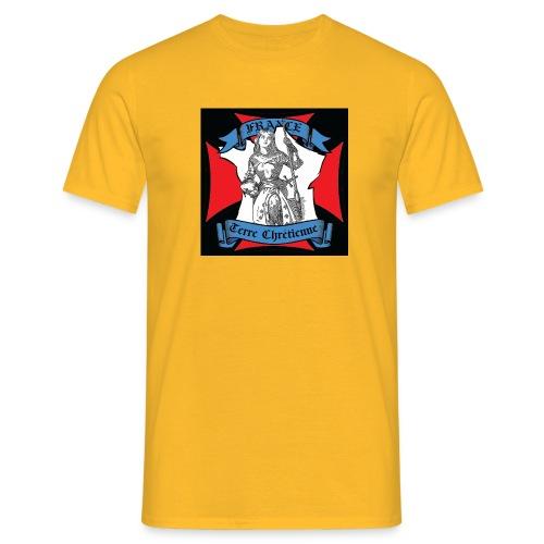 tee shirt noir - T-shirt Homme
