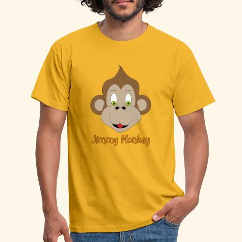 monkey green eyes - T-shirt Homme