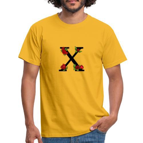 Kanji Rose print - T-skjorte for menn