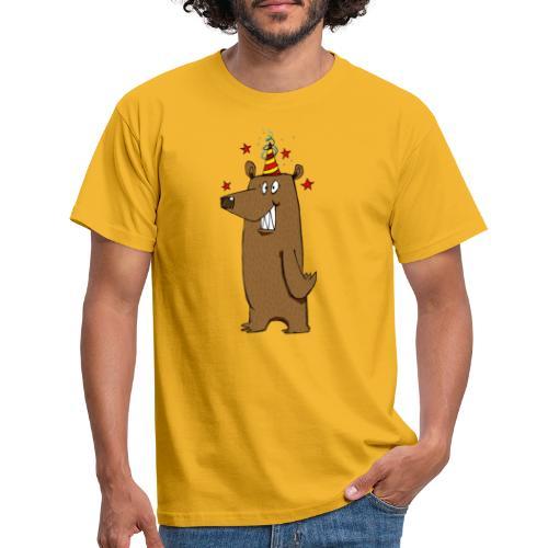 Party Bear Love Friday weekend fun Bear - Maglietta da uomo