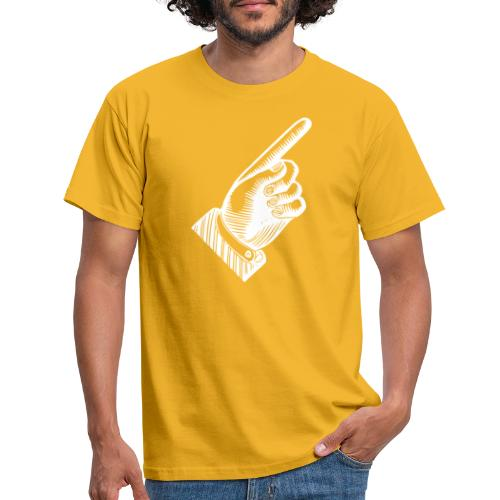 The only way is up! - T-shirt herr