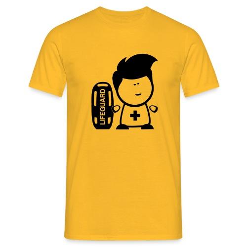 Retter Lifeguard Nerd - Männer T-Shirt