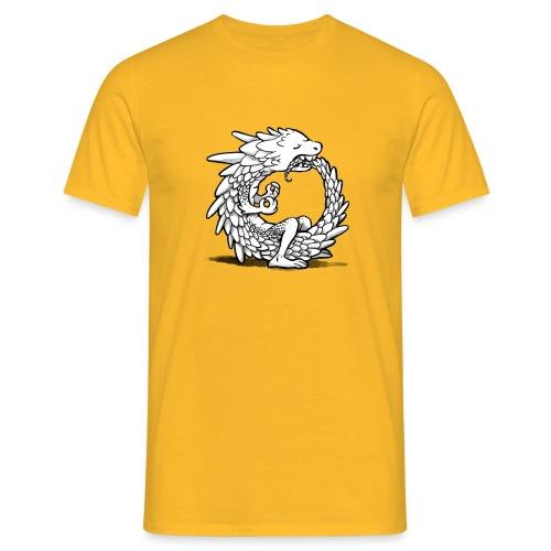 Yogadrache - Männer T-Shirt