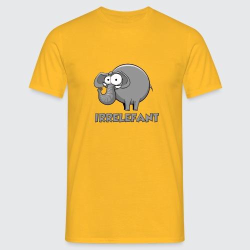 Irrelefant - Männer T-Shirt
