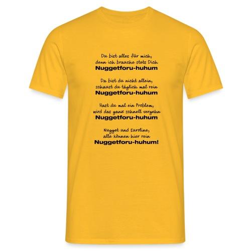 Du bist alles für mich - Männer T-Shirt