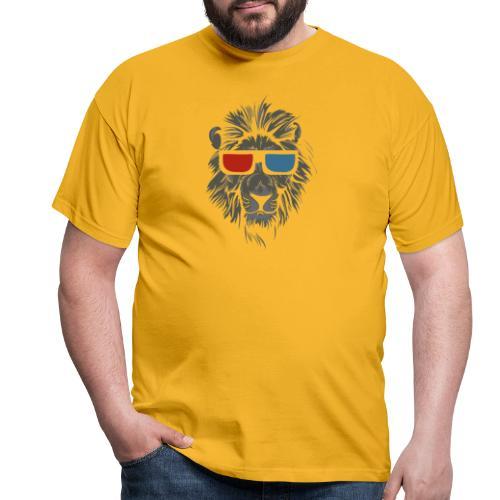 Lion 3D - T-shirt herr