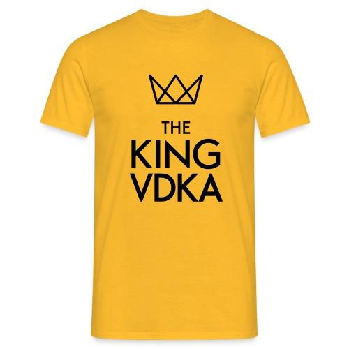 The King VDKA Logo schwarz RGB - Männer T-Shirt