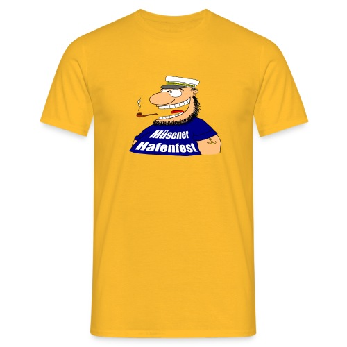 kapitaen 1 png - Männer T-Shirt
