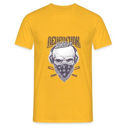 neurofunk soldier - T-shirt Homme