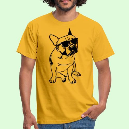 Bouledogue Français au soleil - T-shirt Homme