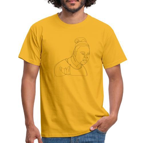 DAFUQ BLACKLINE - Männer T-Shirt