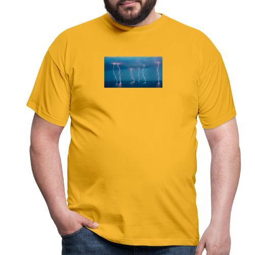 lightning - T-skjorte for menn