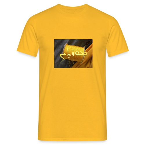 Mortinus Morten Golden Yellow - Men's T-Shirt