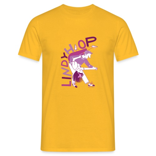 Lindy hop - Men's T-Shirt