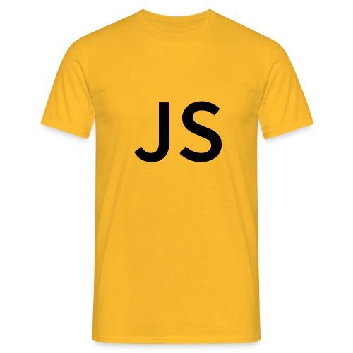 js JavaScript Men - Männer T-Shirt