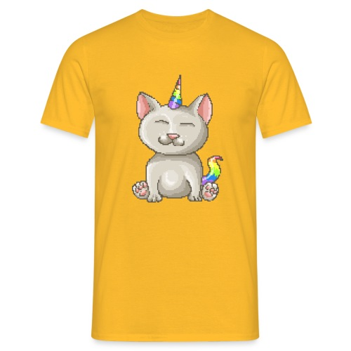 Kitty Unicorn - Männer T-Shirt