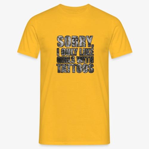 sorry - Camiseta hombre