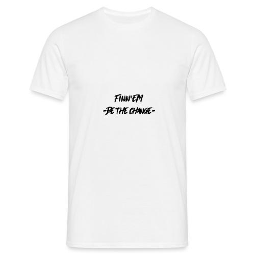 Finn EM Be the Change - Miesten t-paita