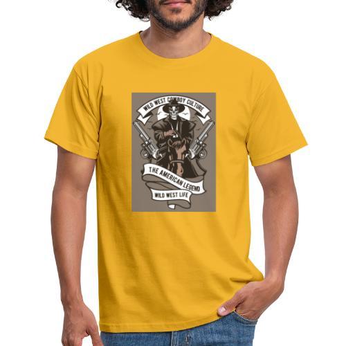 Wild West Cowboy - T-shirt Homme