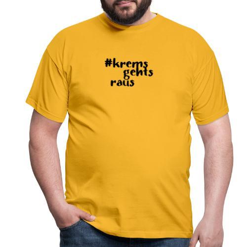 kremsgehtraus art - Männer T-Shirt