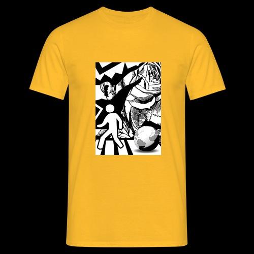 #RIGHT #INCONSCIO ≠ - Maglietta da uomo