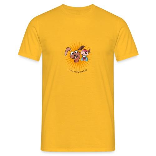 Kollin Kläff - Hund mit Pirat - Männer T-Shirt