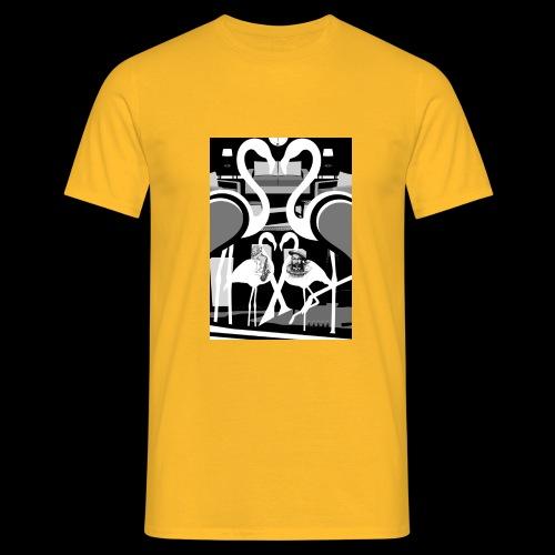 #FLAMINGOS #INCONSCIO ≠ - Maglietta da uomo