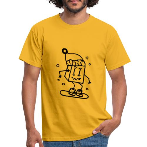 snowboarding - Men's T-Shirt