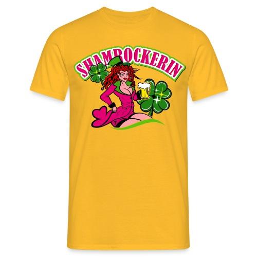 Shamrockerin - Männer T-Shirt