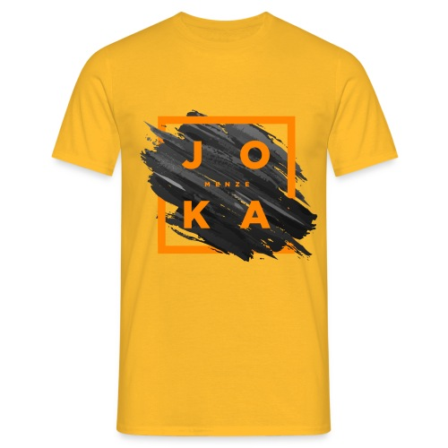 Joka_menze_paint - Männer T-Shirt