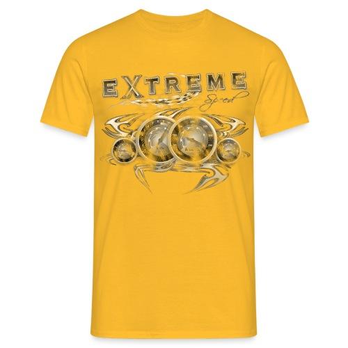 Extreme Geschwindigkeit Vintage - Männer T-Shirt