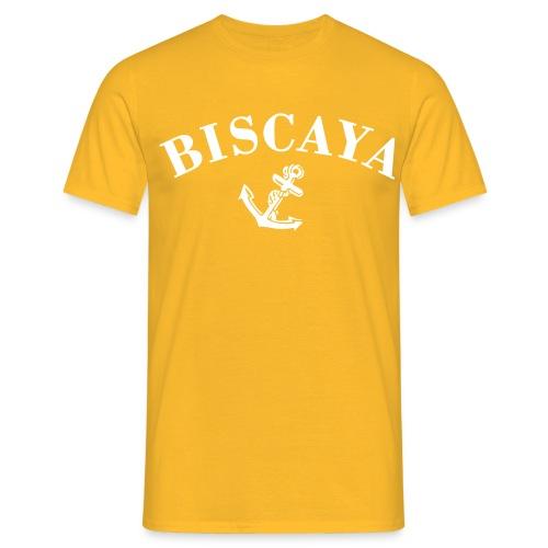 biscaya small svart - T-shirt herr