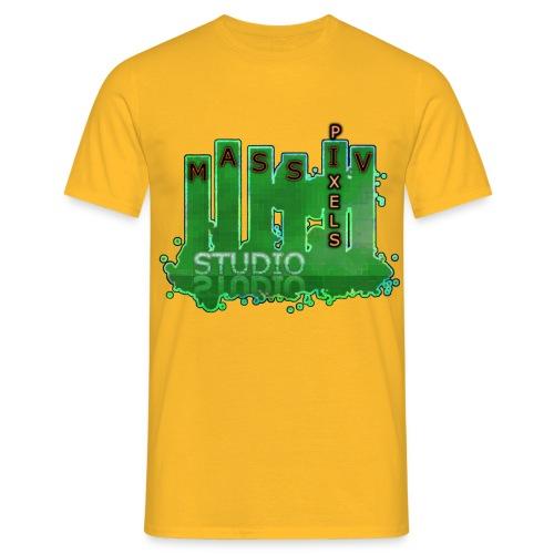 Massiv Pixels Studio - Männer T-Shirt