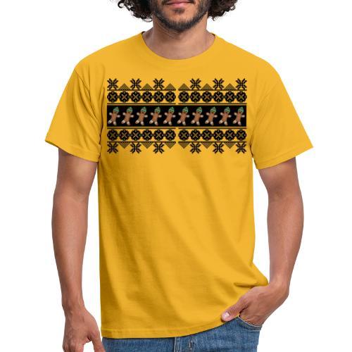 Lebkuchen Männchen für hässliche Weihnachten - Männer T-Shirt