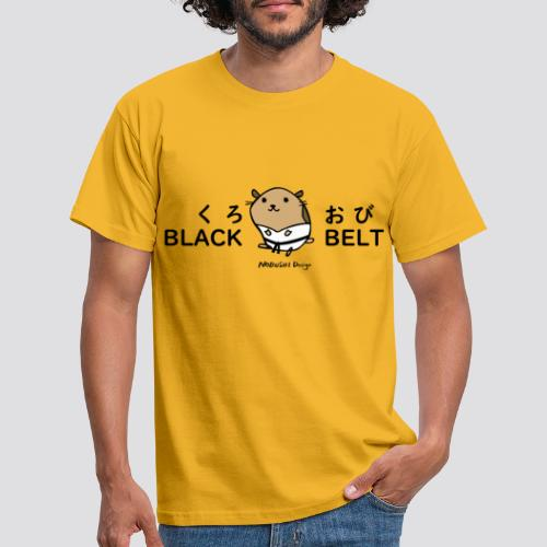 Black Belt Hamster - Mannen T-shirt