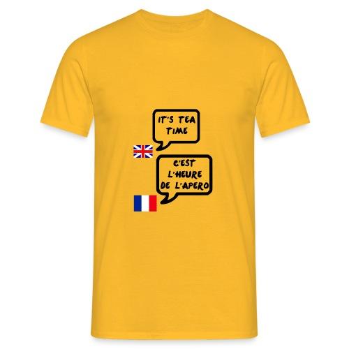 heure de l apero - T-shirt Homme