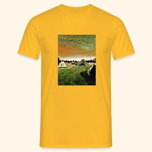 Die Zeltwiese - Männer T-Shirt