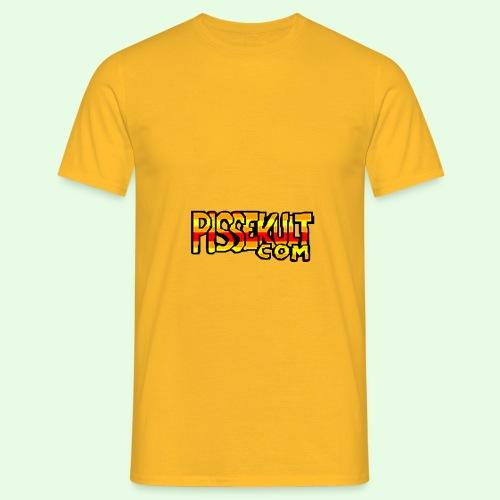 pisselogo - T-skjorte for menn