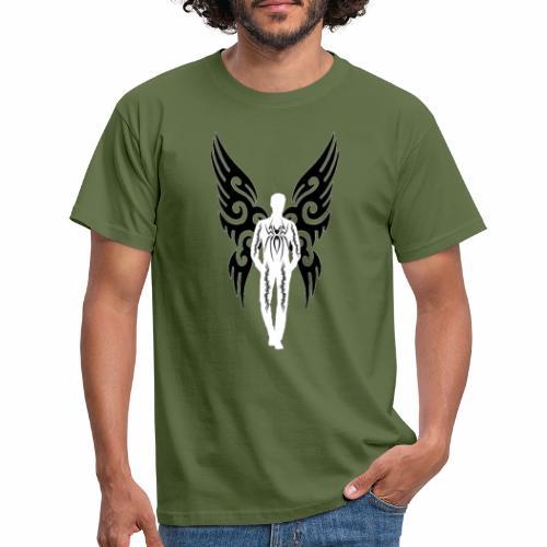 hombre marcado por la vida - Camiseta hombre
