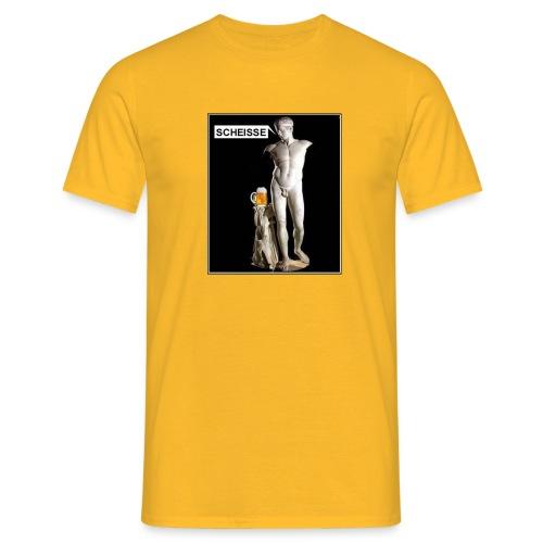 Bier statue - Männer T-Shirt