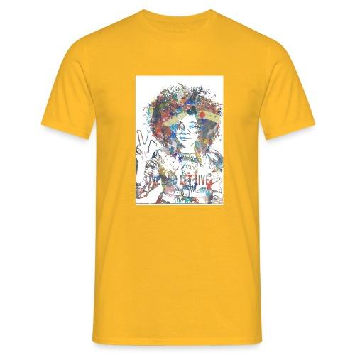 Live and let live, Geschenkidee - Männer T-Shirt