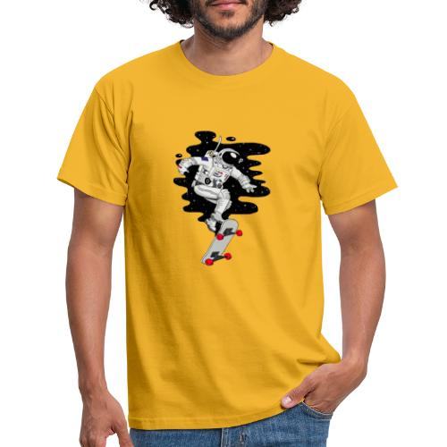 skate on the moon - Camiseta hombre
