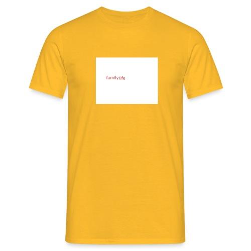 family life logo - Men's T-Shirt