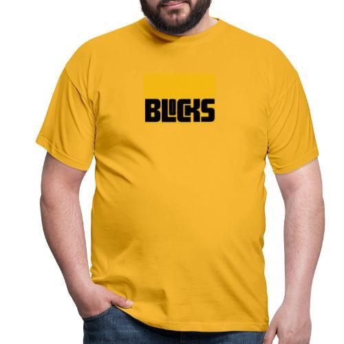 Blocks - Mannen T-shirt