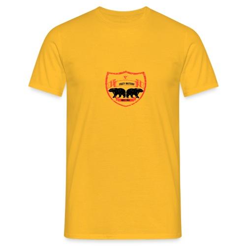 Crazy bastard - Herre-T-shirt